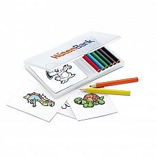 Set 8 colori e 20 disegni