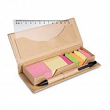 Set penna in custodia di cartone