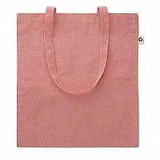 Shopper in cotone e poliestere riciclati