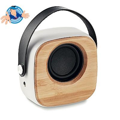 Speaker Bluetooth in bamboo