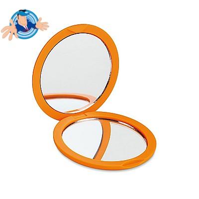 Specchietto doppio con finitura gommata