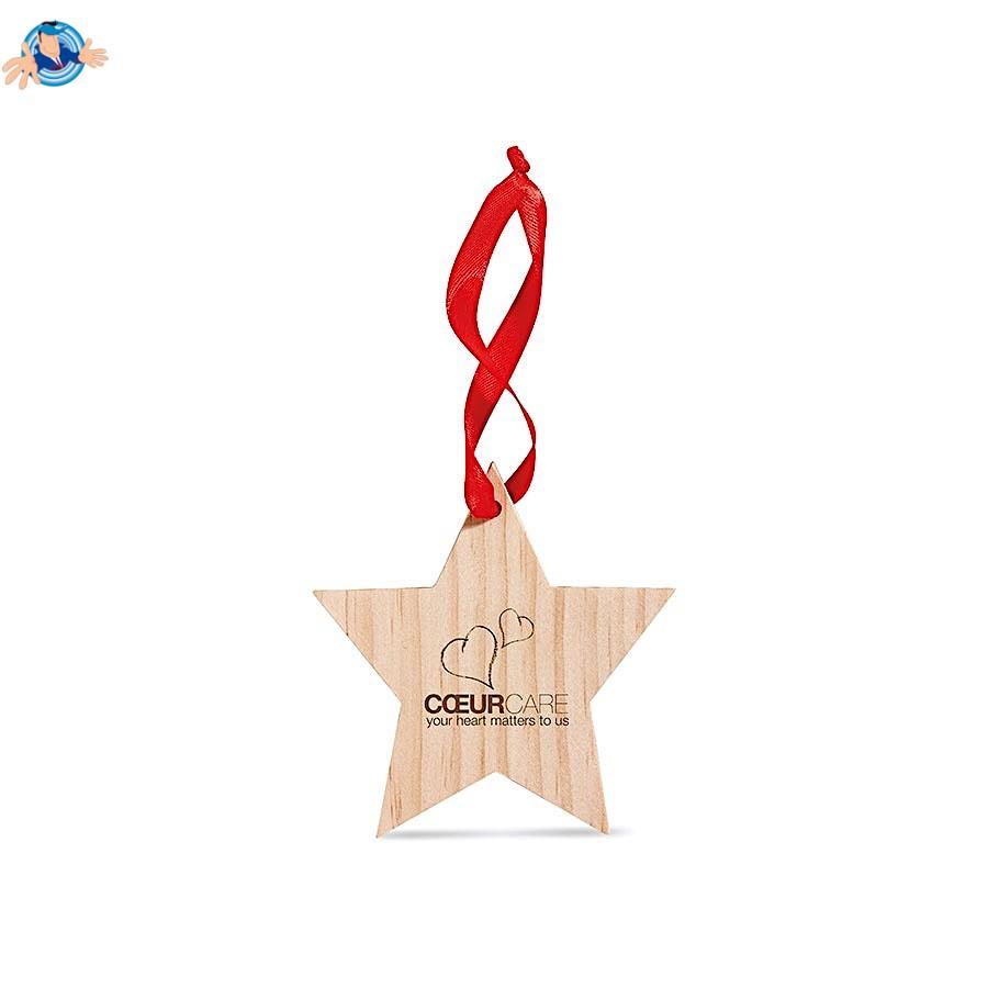 Stella Di Natale Legno.Stella Di Natale In Legno Promozionale Sped Gratis Yesmarket