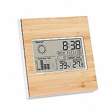Termometro multifunzione in bamboo