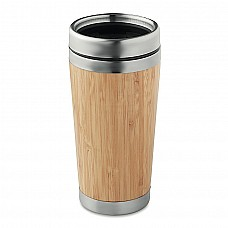 Thermos con rivestimento in bamboo