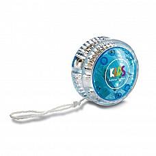 Yo-yo con luce. In plastica