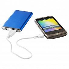 Batteria portatile alluminio 2.200 mAh