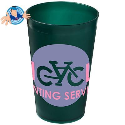 Bicchiere in plastica riutilizzabile