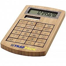 Calcolatrice in bambu