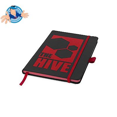Notebook A5 con bordo colorato