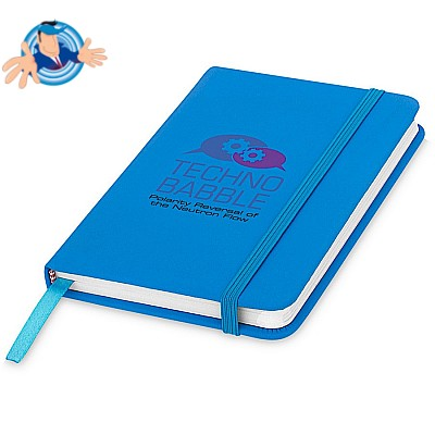 Notebook A6 con chiusura elastica