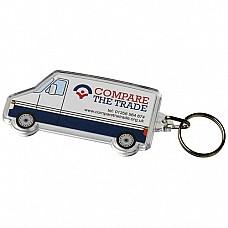 Portachiavi camion con inserto personalizzabile