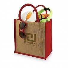 Shopper da regalo in iuta