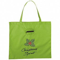 Shopper ripiegabile in pouch portachiavi