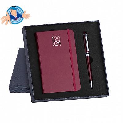 Parure agenda- notes e penna
