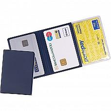 Porta patente e cards con 3 ante