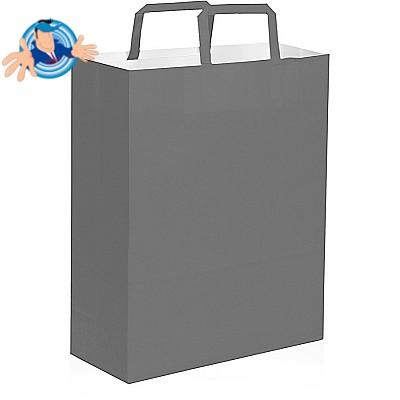 Shopper in carta colorata 19x7x24 cm