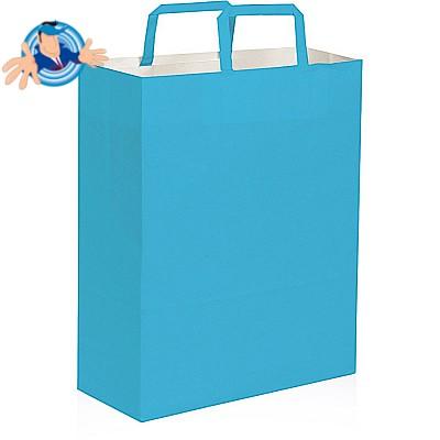 Shopper in carta colorata 28x12x36 cm