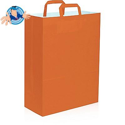Shopper in carta colorata 32x17x43 cm