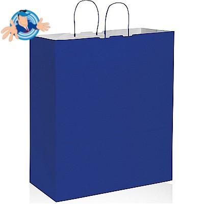 Shopper in carta colorata 45x20x48 cm