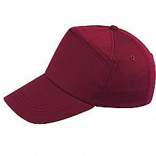 Cappello in cotone con visiera
