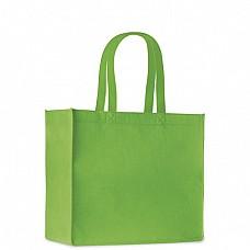 Shopper in feltro con manici corti