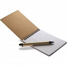 Blocchetto per appunti e penna a sfera