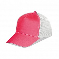 Cappellino 5 pannelli mesh
