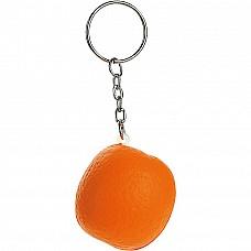Portachiavi antistress a forma di arancia