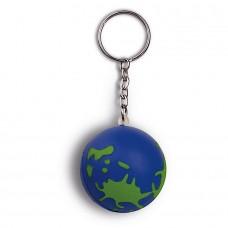 Portachiavi antistress a forma di globo