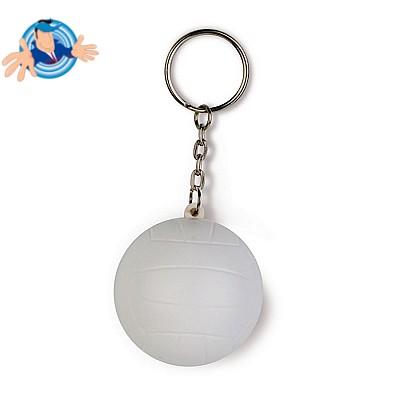 Portachiavi antistress a forma di pallone da volley