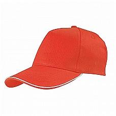 Cappellino a 5 pannelli in cotone