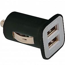 Micro caricabatterie AV/USB doppio