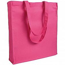 Shopper in cotone e soffietto