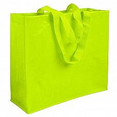 Shopper in polipropilene laminato con manici lunghi